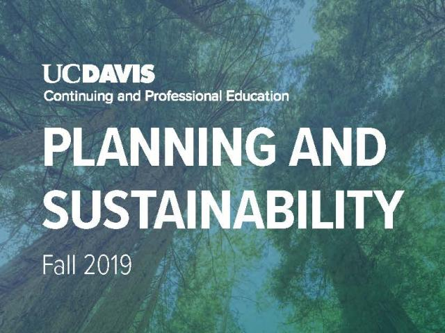 Fall Planning and Sustainability Brochure